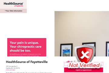 Contact Healthsource Of Fayetteville Chiropractic And Progressive